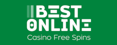 Best Online Casino Free Spins Logo