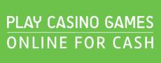 Play Casino Games Online For Cash Logo
