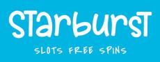 Starburst Slots Free Spins Logo