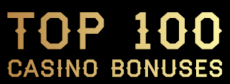 Top 100 Casino Bonuses Logo