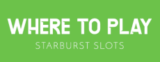 Where To Play Starburst Slots Logo